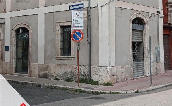 Vendita centralissimo locale commerciale a Sora (FR) – Rif. 55