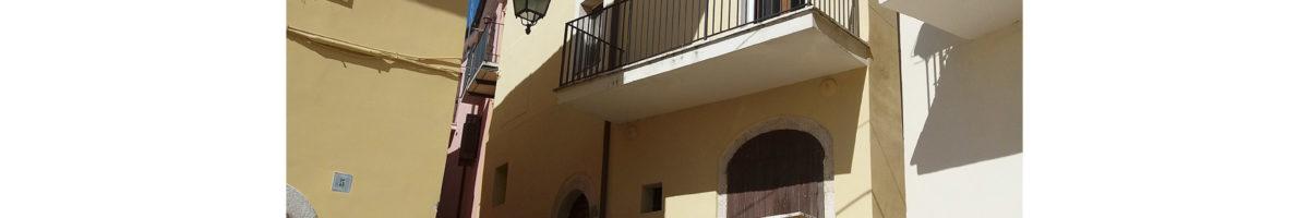 Vendita fabbricato semindipendente su tre livelli a Fontechiari (FR) - Rif: 16-1
